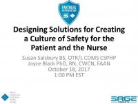 Designing Solutions for Creating a Culture of Safety for the Patient and the Nurse icon