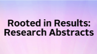 Rooted in Results: Research Abstracts icon